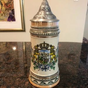 German Beer Stein - Neuschwanstein Castle VINTAGE